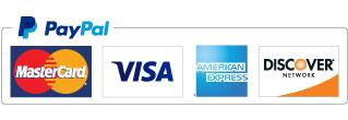 Pay with MasterCard, Visa, American Express...